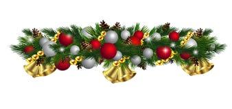 De vector geïsoleerde Decoratie van de Kerstmisspar vector illustratie