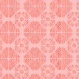 De vector geweven geometrische vormen herhalen patroon vector illustratie