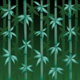 De vector Illustratie van het Bamboe Stock Afbeeldingen