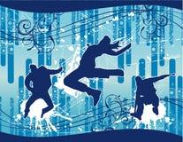 De vector illustratie van pretmensen Royalty-vrije Stock Foto's