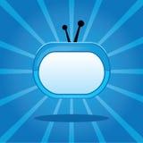 De vector illustratie van TV Royalty-vrije Stock Afbeeldingen