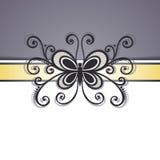De vector kleurde Bloemenachtergrond Royalty-vrije Stock Foto's
