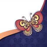 De vector kleurde Bloemenachtergrond Stock Fotografie