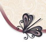 De vector kleurde Bloemenachtergrond Stock Foto