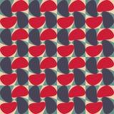 De vector moderne naadloze kleurrijke draai van het meetkundepatroon, kleurensamenvatting royalty-vrije illustratie