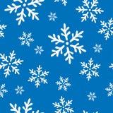 De vector naadloze achtergrond van de winterkerstmis Stock Illustratie