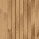 De vector Naadloze Houten Achtergrond van de Planktextuur Stock Foto