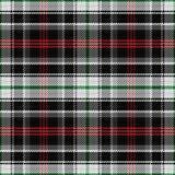 De vector naadloze panda van het patroon Schotse geruite Schots wollen stof Royalty-vrije Stock Foto's