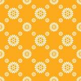 De vector naadloze patronen van toestellenpictogrammen Stock Afbeeldingen