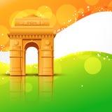 De vector poort van India stock illustratie