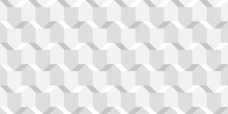 De vector rieten kubussentextuur, steekt geometrisch naadloos patroon, ontwerp witte achtergrond voor u aan projecten vector illustratie