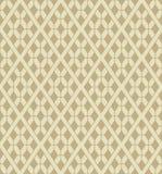 De vector ruiten voorzien naadloos patroon van tralies Stock Afbeeldingen