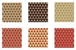 De vector tegels van Patronen foutloos. Stock Afbeeldingen