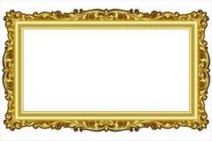 De vector uitstekende gravure van het grenskader met retro ornamentvector Stock Afbeeldingen