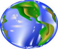 De vector van de aardeplaneet Royalty-vrije Stock Afbeeldingen