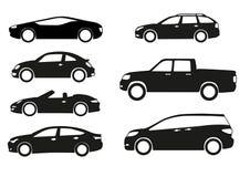 De vector van auto's Royalty-vrije Stock Foto's