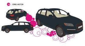 De vector van auto's Stock Foto
