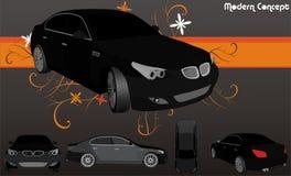 De vector van auto's Royalty-vrije Stock Afbeeldingen