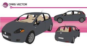 De vector van auto's Stock Afbeelding