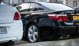De vector van auto's stock fotografie