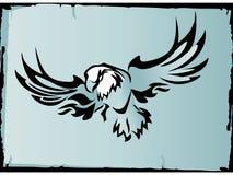 De vector van de adelaar Stock Afbeeldingen