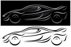 De vector van de auto Royalty-vrije Stock Afbeelding