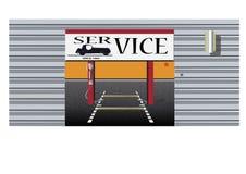 De vector van de autodienst Stock Fotografie