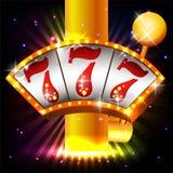 De Vector van de casinopartij Royalty-vrije Stock Afbeeldingen