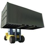 De vector van de container stock illustratie