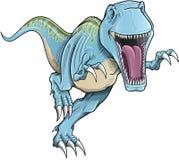 De Vector van de Dinosaurus van Rex van tyrannosaurussen Royalty-vrije Stock Afbeeldingen