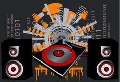 De Vector van de disco royalty-vrije illustratie