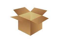 De vector van de doos Royalty-vrije Stock Afbeeldingen