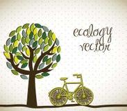 De vector van de ecologie royalty-vrije illustratie