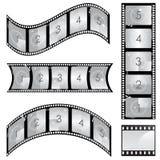 de vector van de filmstrook Stock Afbeelding