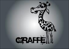 De vector van de giraf stock illustratie