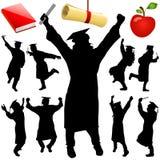 De vector van de graduatie Stock Foto