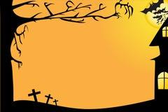 De Vector van de Grens van Halloween Royalty-vrije Stock Afbeelding