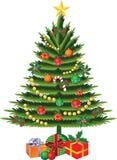 De vector van de kerstboom Royalty-vrije Stock Fotografie