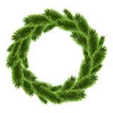 De vector van de kerstboomkroon Royalty-vrije Stock Afbeeldingen