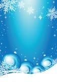 De vector van de kerstkaart Royalty-vrije Stock Afbeelding