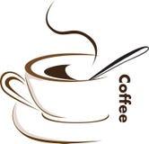 De Vector van de koffie Royalty-vrije Stock Fotografie