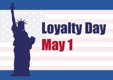 De Vector van de loyaliteitsdag Stock Fotografie
