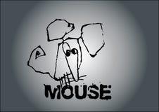 De vector van de muis royalty-vrije illustratie