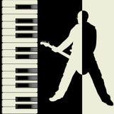 De vector van de muziek Stock Fotografie