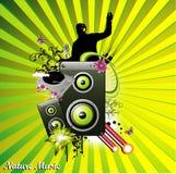 De vector van de muziek Stock Foto