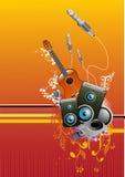 De vector van de muziek Royalty-vrije Stock Foto
