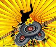 De vector van de muziek Royalty-vrije Stock Afbeelding