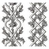 De vector van de pergola Royalty-vrije Stock Afbeeldingen