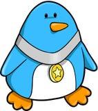 De Vector van de Pinguïn van de kampioen vector illustratie