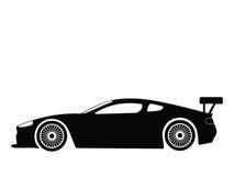 De vector van de sportwagen Royalty-vrije Stock Afbeelding